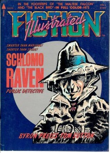 Tom Sutton cover art for Schlomo Raven: Public Detective. (Pyramid Books)